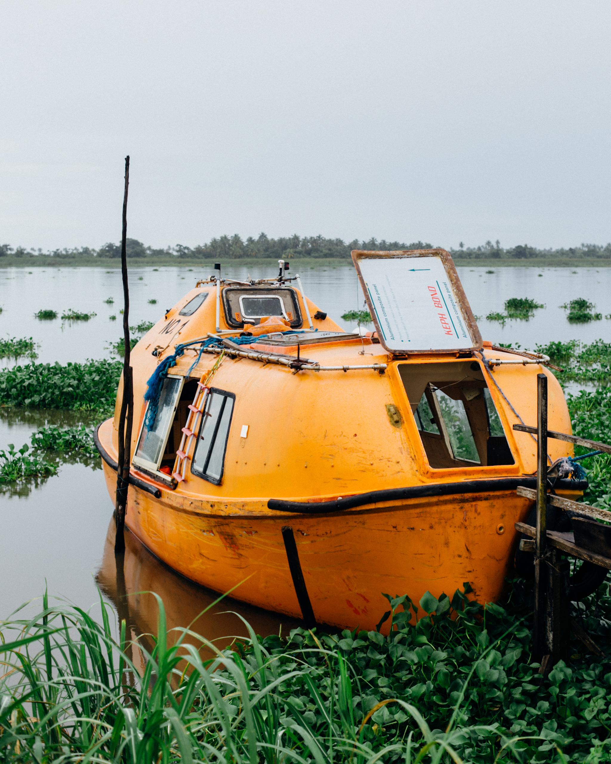 Orange Boat, Marina, Badagry