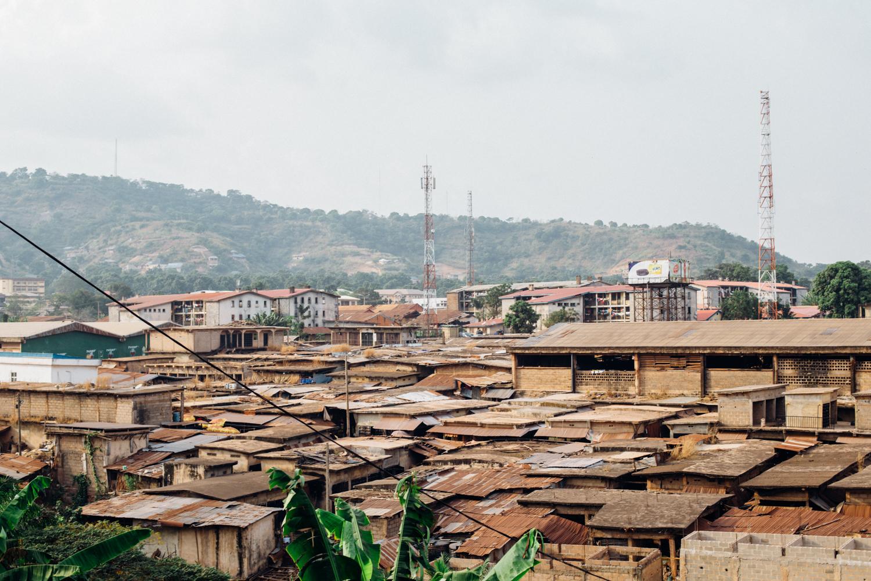 Aerial View of Ogbete Market, Enugu