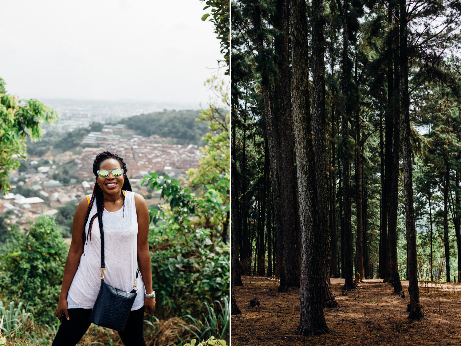 Portrait, Milliken Hill and Ngwo Pine Forest, Enugu