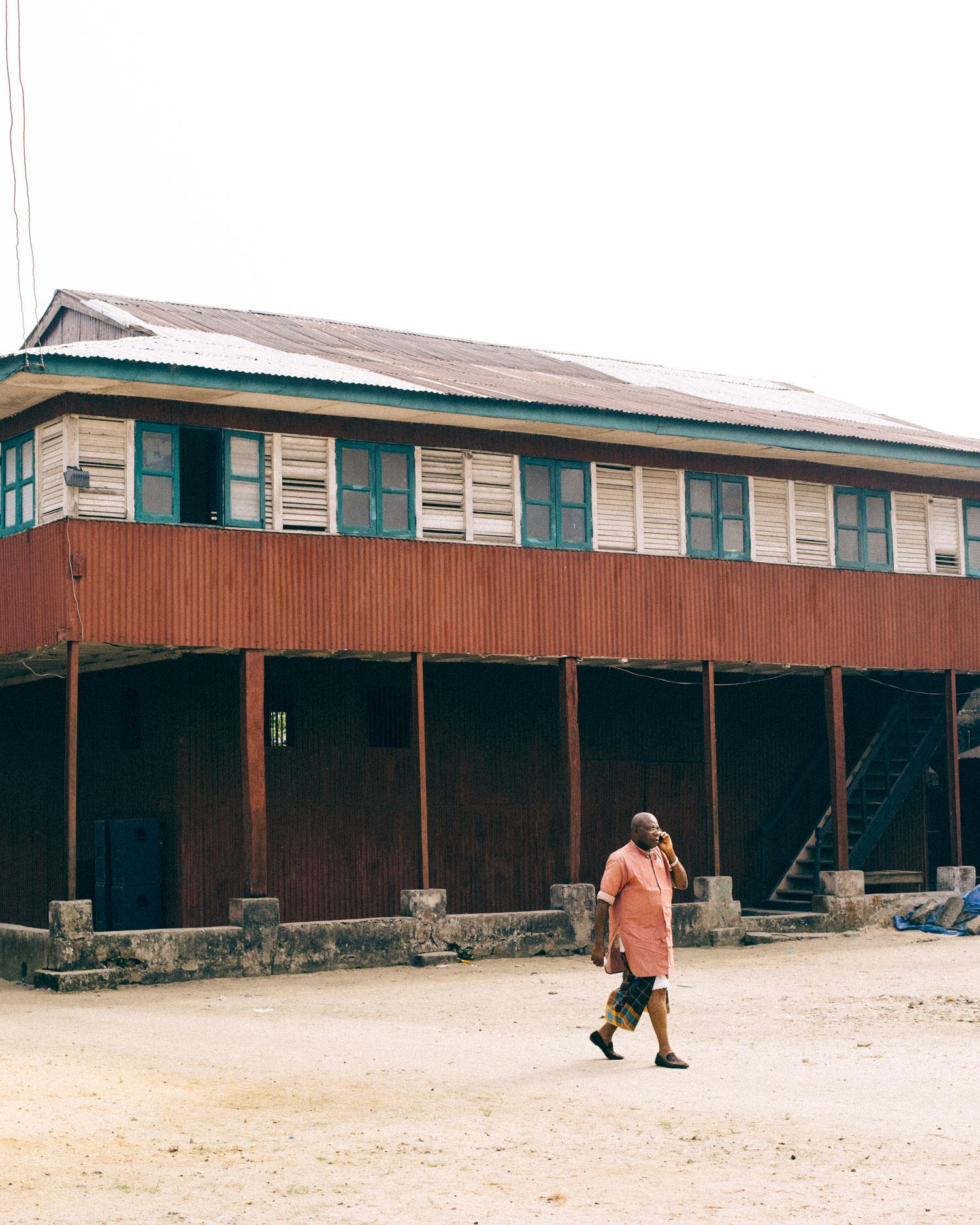Colonial Era, Storey Building, Opobo