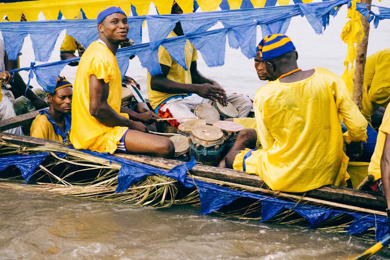 Drummers, Opobo Boat Regatta Festival