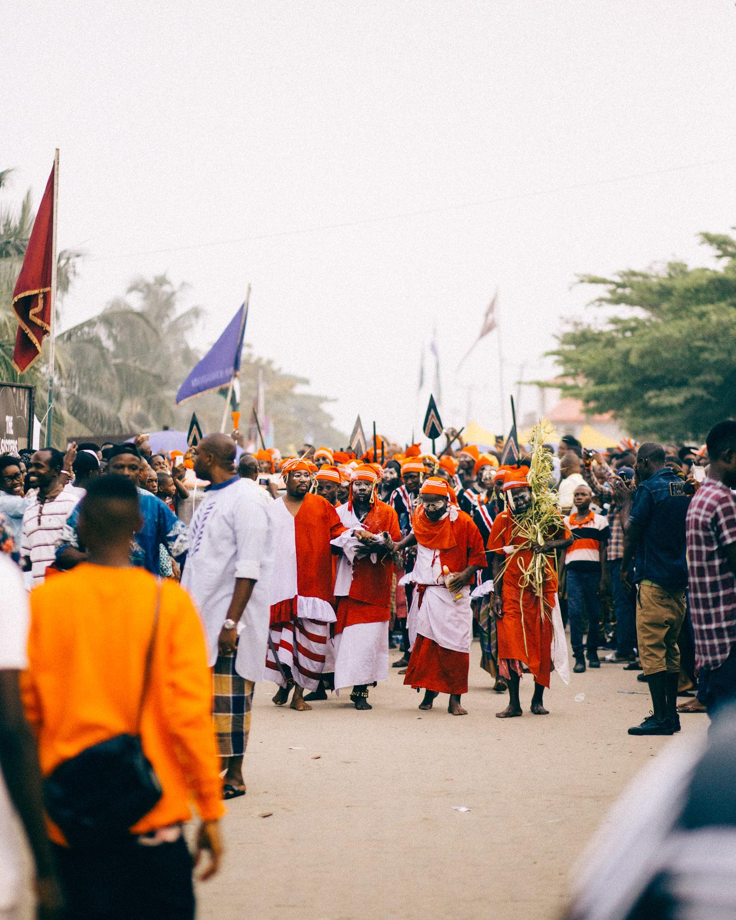 Procession, Opobo Boat Regatta Festival