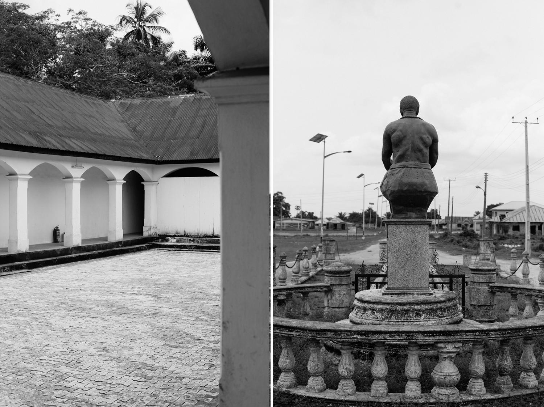Statue of Nanna and His Palace