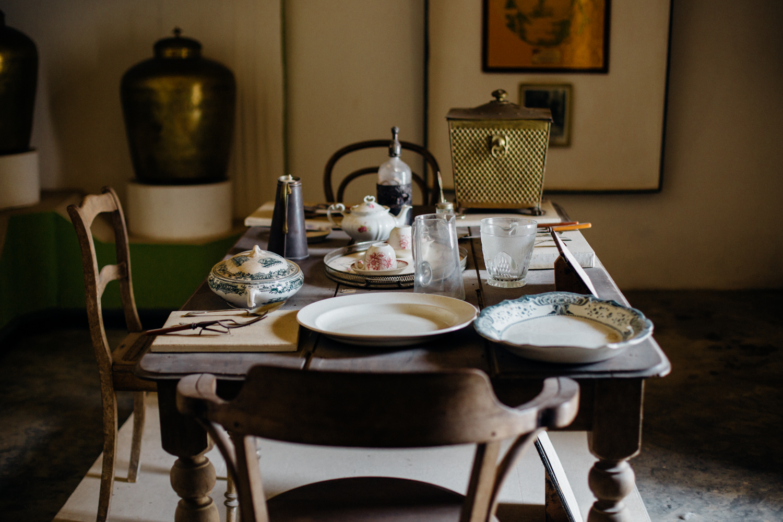 Dinning, Nanna's Museum, Koko