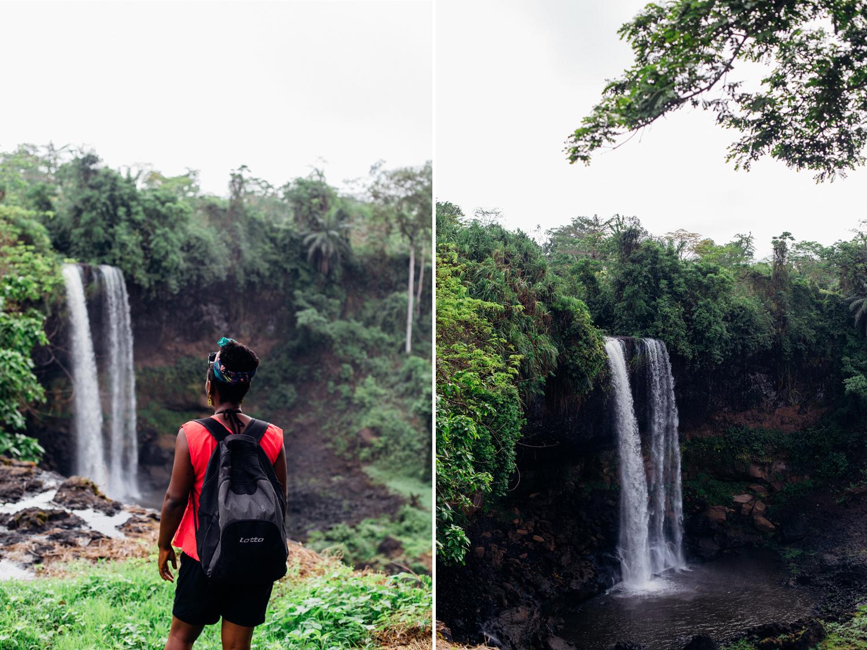 Portrait, Agbokim Waterfalls