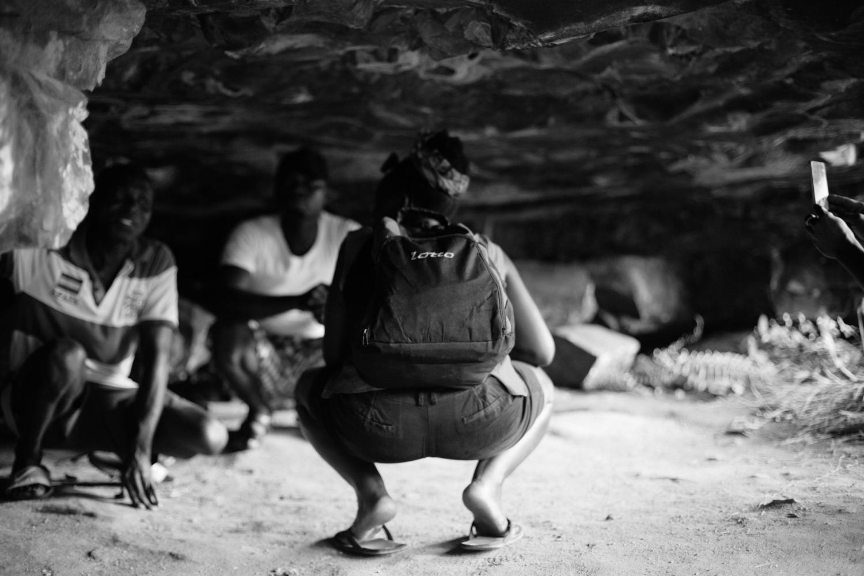 Cave, Agbokim Waterfalls