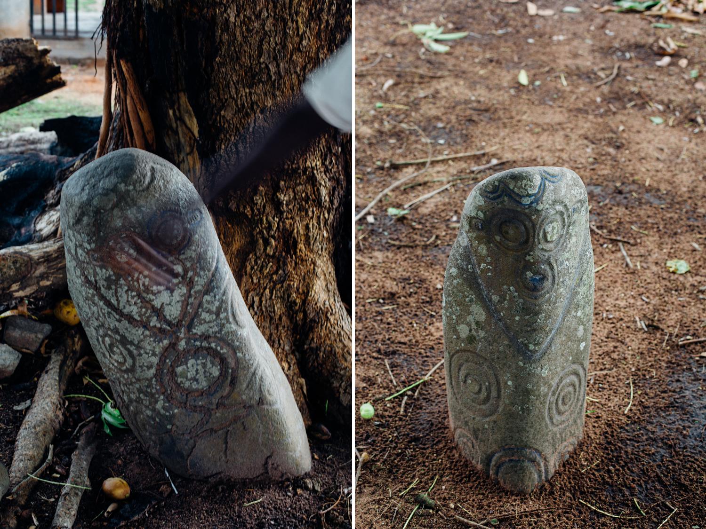 Alok-Ikom Stone Monolith