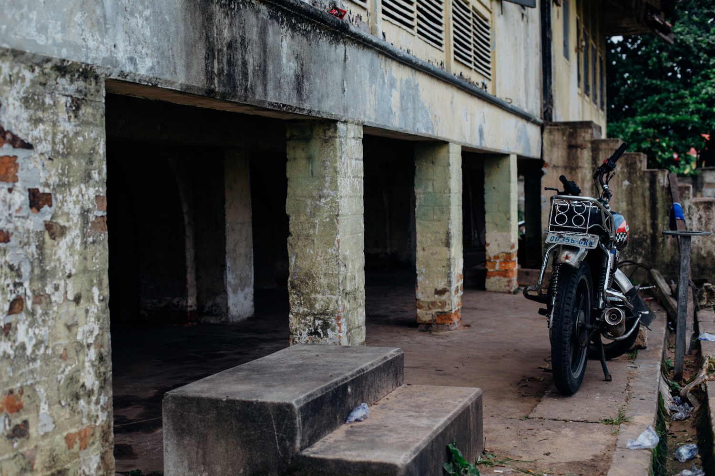 Derelict Colonial Building, Sapele