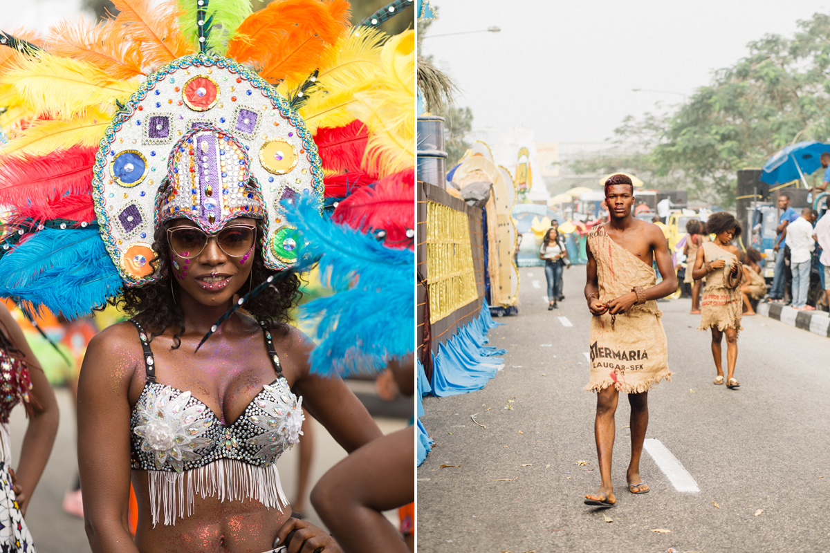 Portraits and Slave Calabar Christmas Carnival 2017